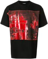 Raf Simons night scene T-shirt