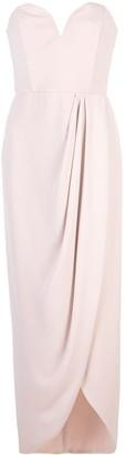 Shona Joy bustier draped dress