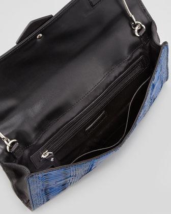 Milly Makenna Watersnake Clutch Bag
