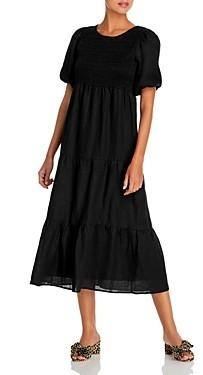 Faithfull The Brand Alberte Midi Dress