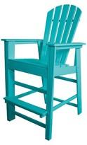 Polywood South Beach Patio Bar Height Chair