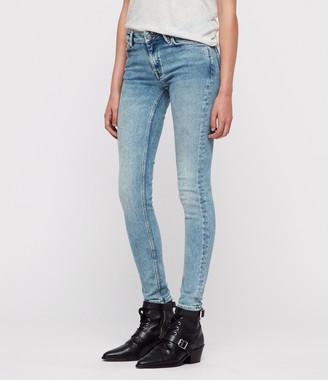 AllSaints Mast Skinny Jeans