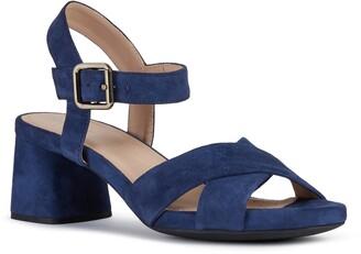 Geox Genziana Block Heel Sandal