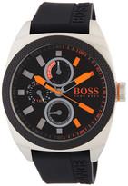 HUGO BOSS Men's London Rubber Strap Watch