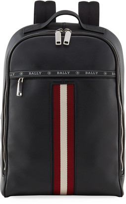 Bally Men's Hassel Leather Trainspotting Backpack