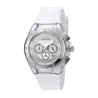 Technomarine TECHNO MARINE Techno Marine Womens White Strap Watch-Tm-115171