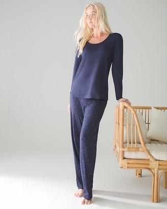 Soma Intimates Cool Nights Long Sleeve Pajama Set Regular