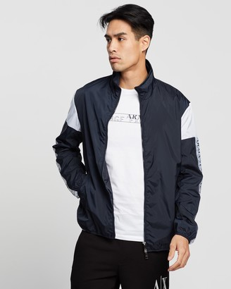 Armani Exchange Blouson Logo Jacket