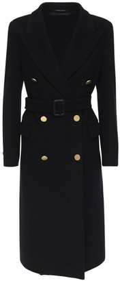 Tagliatore Jole Wool & Cashmere Long Coat