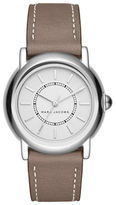 Marc Jacobs Courtney Stainless Steel Leather-Strap Analog Watch