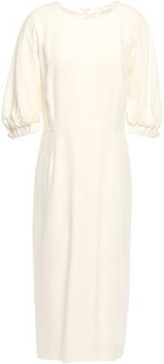Goat Hamilton Faux Pearl-embellished Crepe Midi Dress