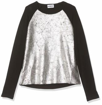 MEK Girl's Top Alcantara E Jersey Blouse