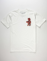 Riot Society Floral Bear Mens T-Shirt