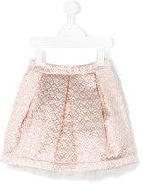 Paesaggino - brocade skirt - kids - polyester/Cotton - 4 yrs