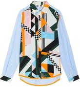 MSGM Silk Print Shirt