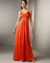 Marc Bouwer Glamit! Cross-Front Gown