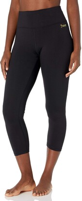Juicy Couture Women's High Waisted Crop Yoga Tight