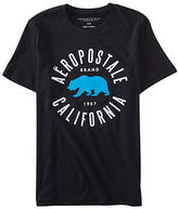 Aeropostale Mens Aero California Bear Logo Graphic T Shirt