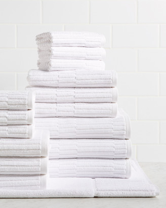 Chortex Oxford 16Pc Towel Set