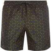 Fendi Patterned Swim Shorts