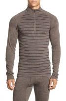 Smartwool Men's 'Nts Mid 250' Long Sleeve Half Zip Pullover