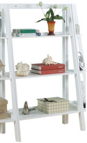 """InRoom Designs 43"""" Leaning Bookcase"""