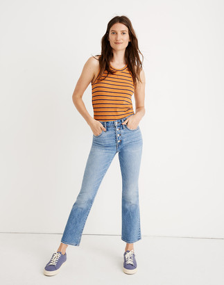 Madewell Cali Demi-Boot Jeans in Dory Wash: Comfort Stretch Edition