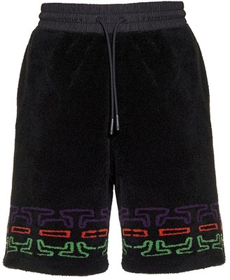 Marcelo Burlon County of Milan Folk Pile Basketball Shorts