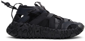 Nike Black ISPA OverReact Sandals