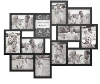 "Lavish Home Black Collage Picture Frame w/ 12 Openings for 4""x6"" Photos by Lavish"