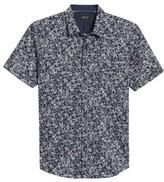 7 Diamonds Men's Still Standing Print Woven Shirt