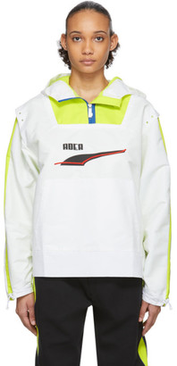 Puma ADER error White Edition Windbreaker Jacket