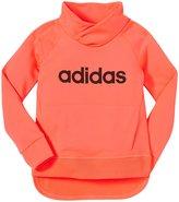 adidas Drop Kick Pullover (Toddler/Kid) - Bright Red-5