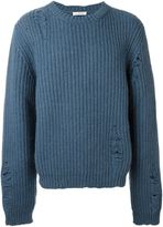 J.W.Anderson distressed chunky knit jumper