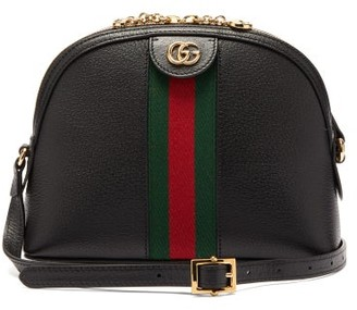 Gucci Ophidia Small Leather Cross-body Bag - Black