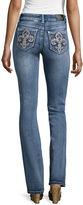 LOVE INDIGO ZCO Fleur De Lis Pocket Pants - Tall