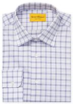 Hickey Freeman Check Charles Dress Shirt