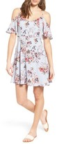 Lush Women's Off The Shoulder Fit & Flare Dress
