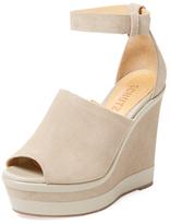 Schutz Morlen Platform Wedge Sandal