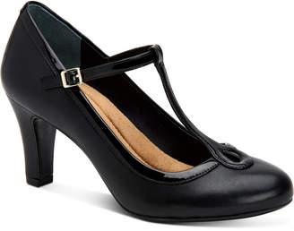 Giani Bernini Varinaa T-Strap Pumps, Women Shoes