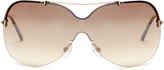 Tom Ford Ondria aviator sunglasses