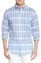 Vineyard Vines Men's Brightwaters Plaid Slim Tucker Sport Shirt