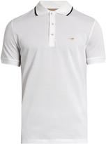 Burberry Adley cotton-piqué polo shirt