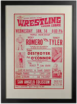 Rejuvenation Framed Lucha Libre Wrestling Poster Triple Header