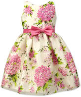 Jayne Copeland Hydrangea Print Dress, Toddler & Little Girls (2T-6X)