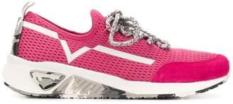 Diesel lace-up runner sneakers