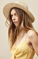 La Hearts Straw Fedora Hat