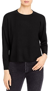 Eileen Fisher Crewneck Merino Wool Pullover Sweater