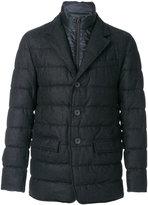Herno double collared padded jacket - men - Polyamide/Polyester/Virgin Wool - 50