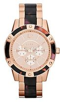 JCPenney Relic® Payton Womens Simulated Tortoise & Rose-Tone Watch